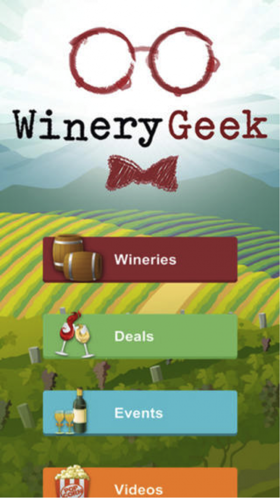 winery geek app