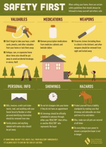 home selling safety tips