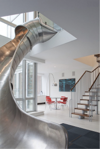 Stainless Steel Slide for Stairs