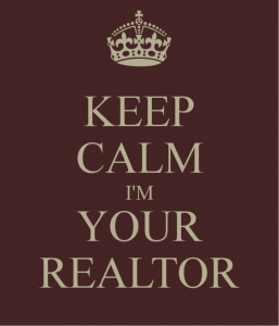 Keep calm I'm Your Realtor illustration