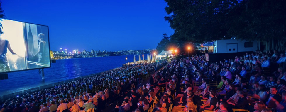 St. George OpenAir Cinema in Sydney, Australia