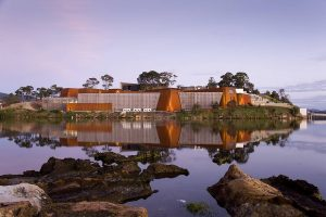 Mona Museum courtesy of The Sydney Morning Herald