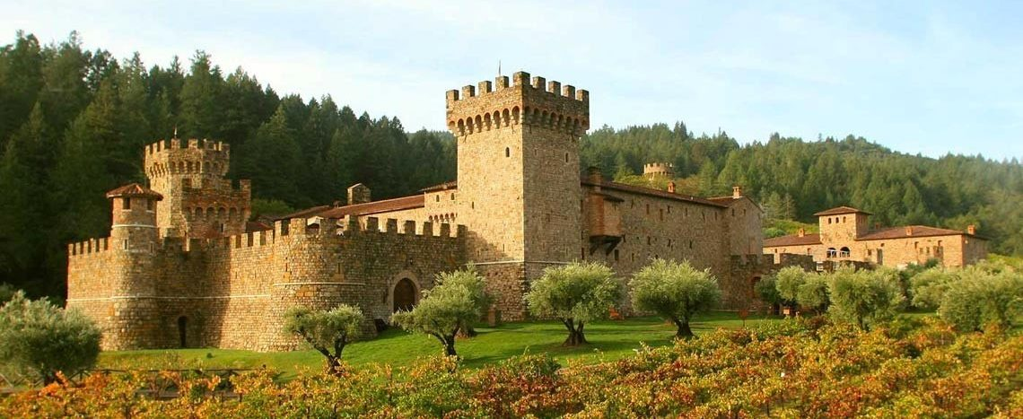 Castello di Amorosa and Calistoga Real Estate