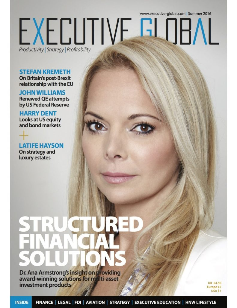 Executive Global Magazine Front Cover