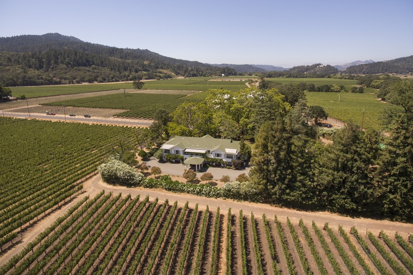 overview of 1103 Larkmead Lane Calistoga