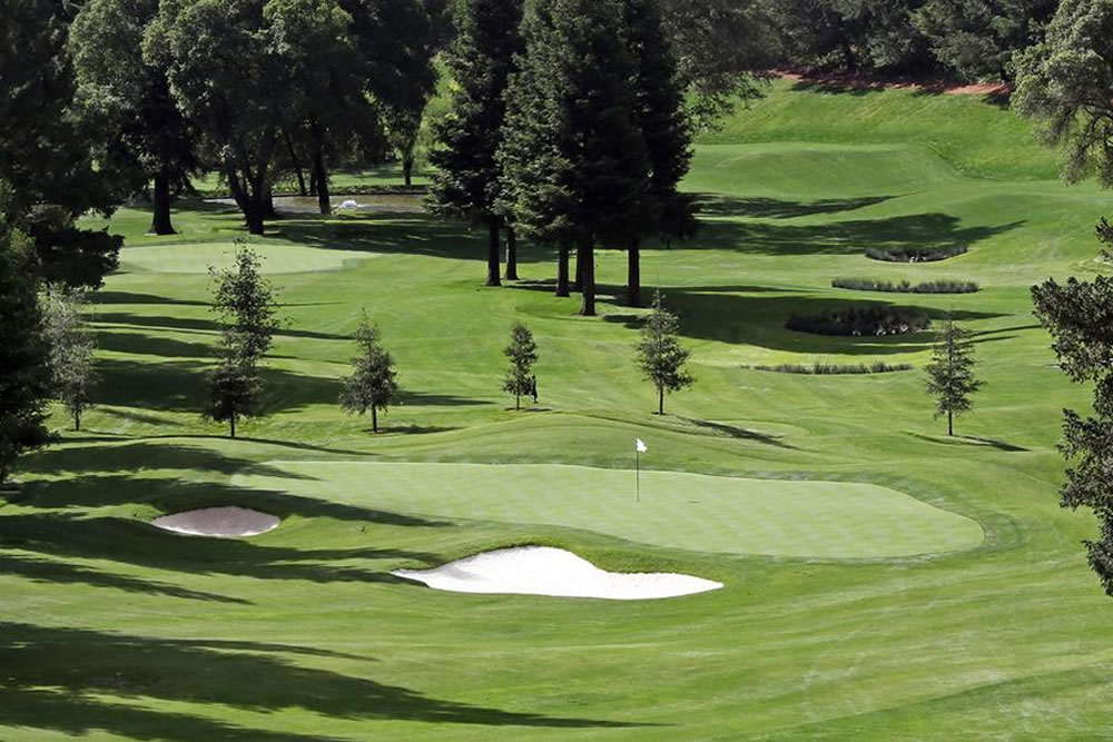 Golf courses in Napa Valley
