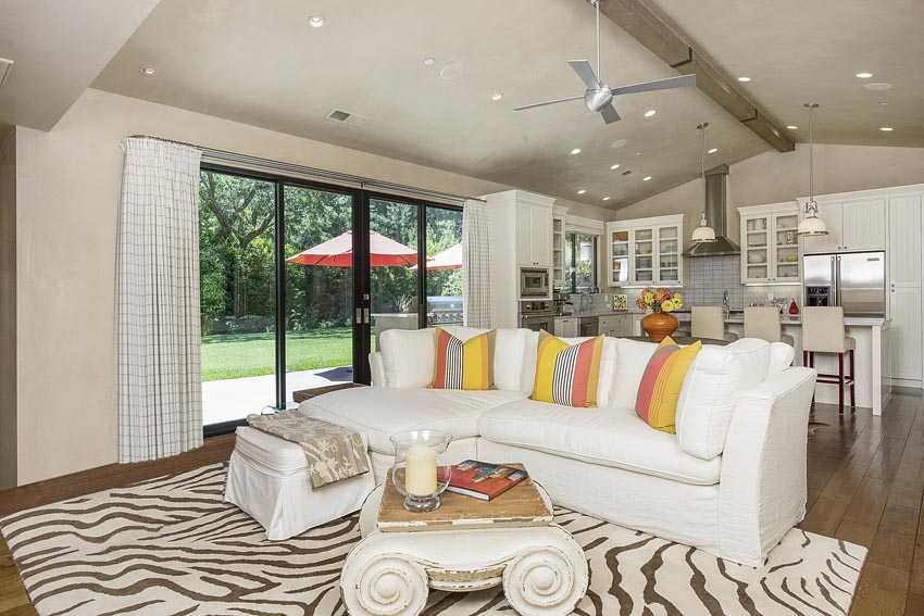 Family room with view to outdoors