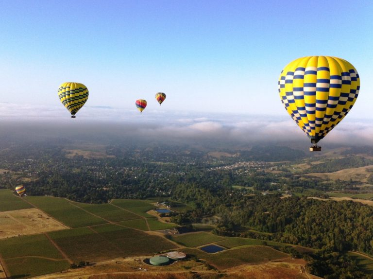 Balloons and Napa Homes for Sale