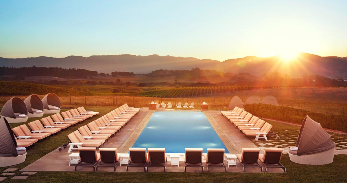 Carneros Resort and Spa in Napa Valley