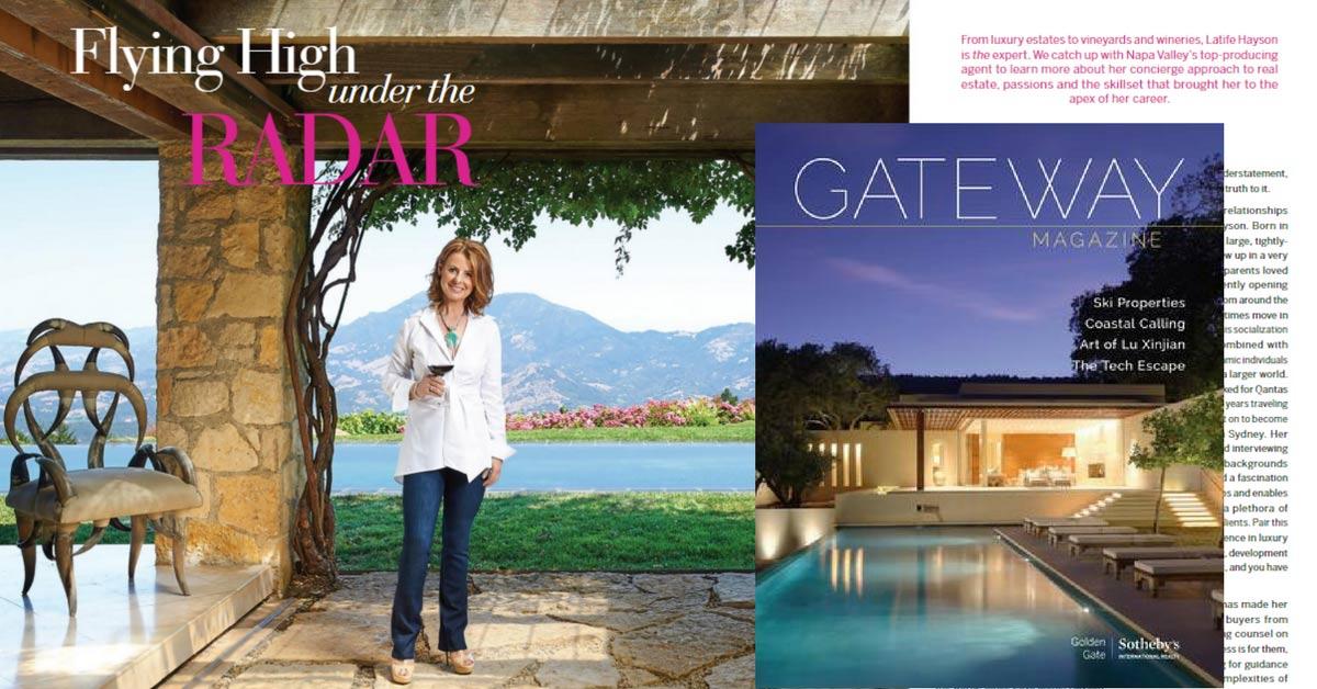 Gateway Magazine Featured Latife Hayson