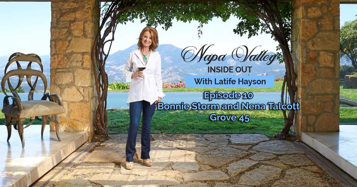 Napa Valley Inside Out Podcast Bonnie Storm Nena Talcott