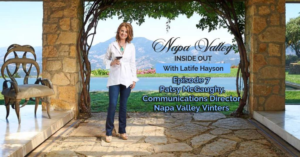 Napa Valley Inside Out Podcast Patsy McGaughy