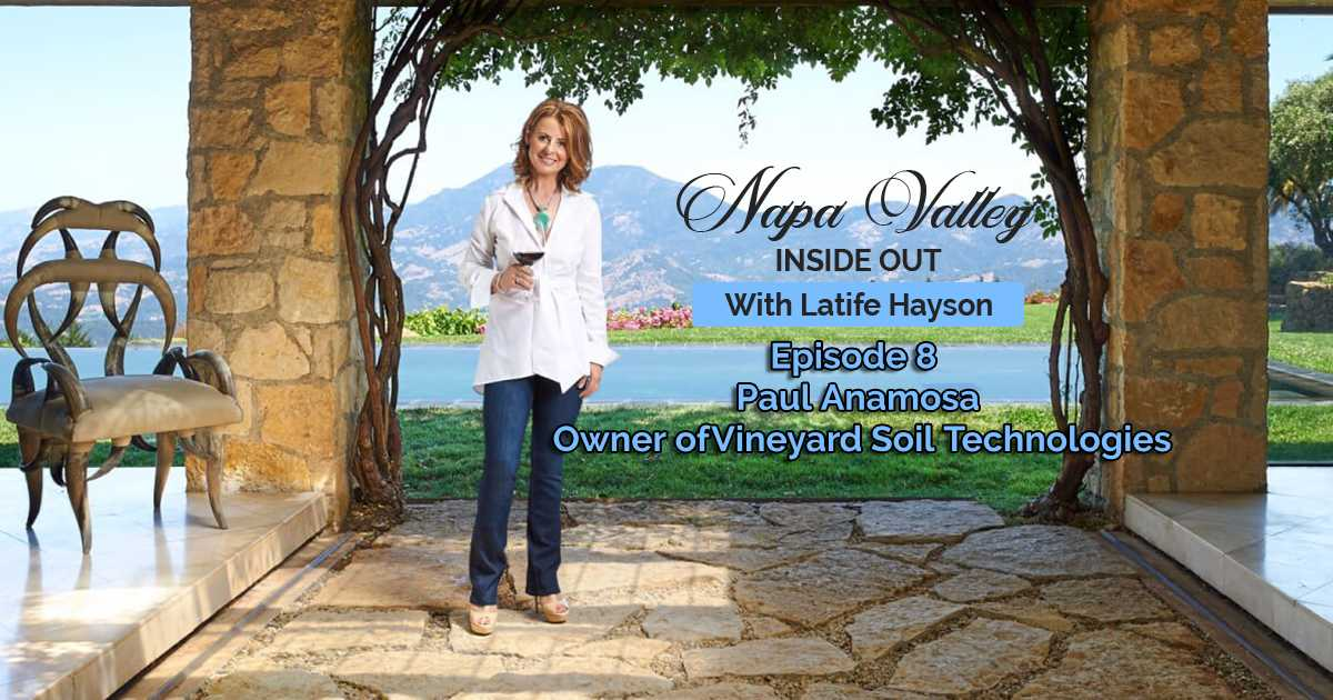 Napa Valley Inside Out Podcast Paul Anamosa