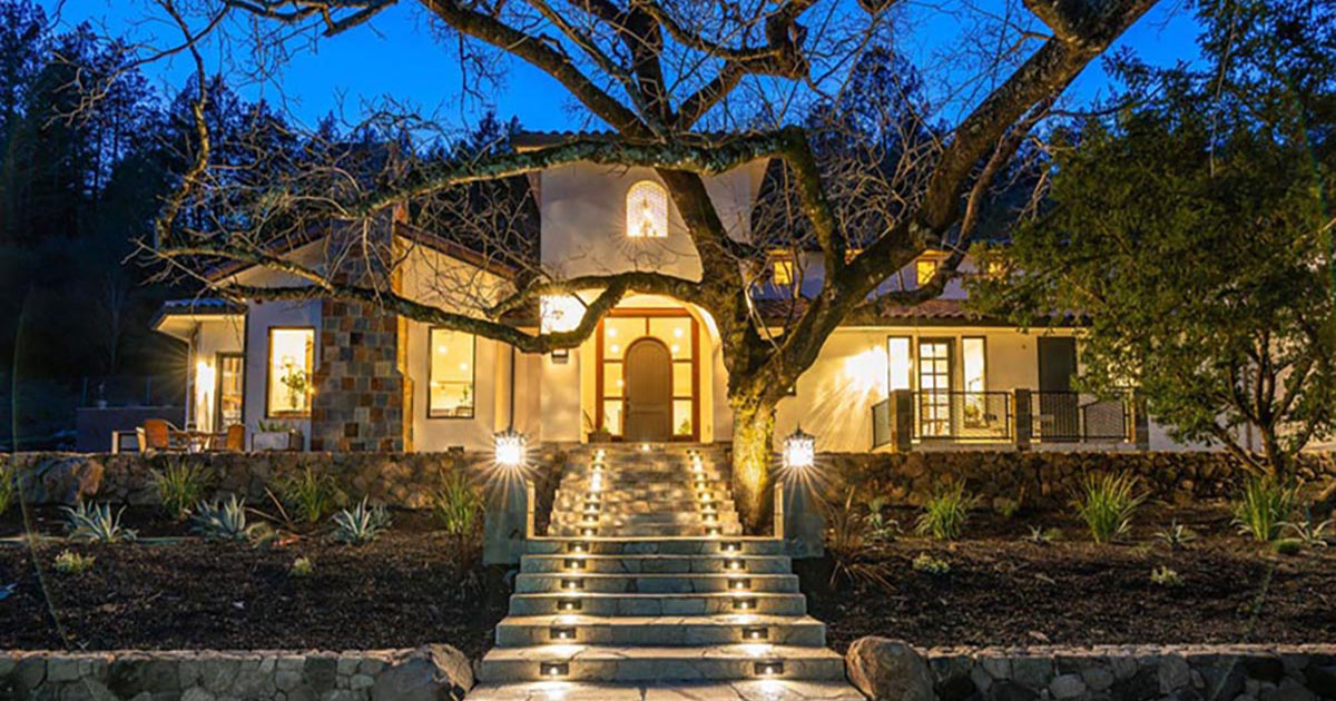 Stunning European Style Home in Calistoga: New Construction