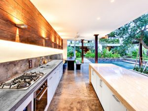 Upgraded kitchen luxury outdoor living spaces