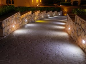 Elegant lighting luxury outdoor living spaces
