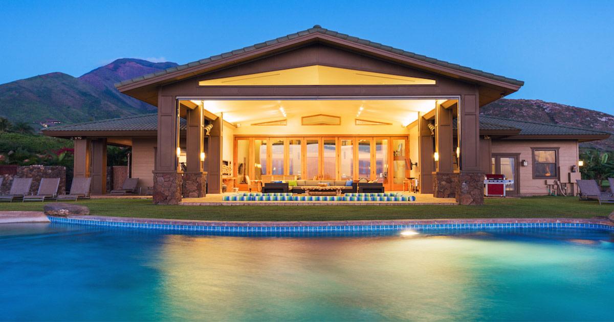 Luxury outdoor living in Napa Valley