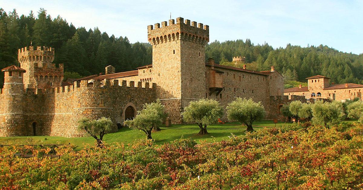 Castello Di Amorosa Winery in Calistoga