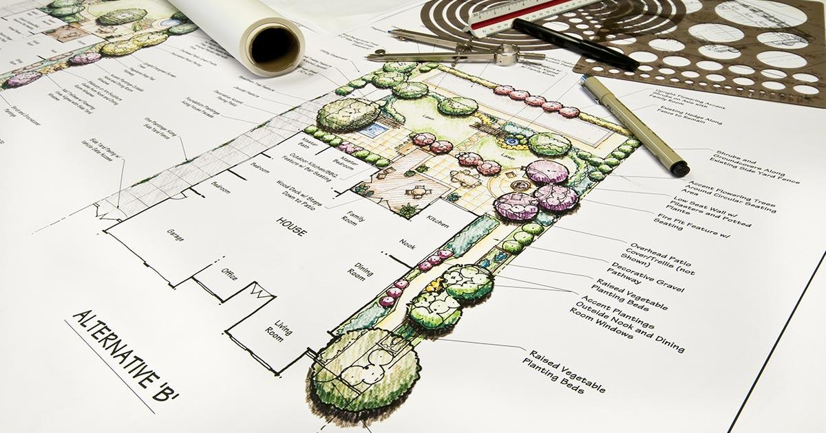 Fire Resistant Landscape Design California