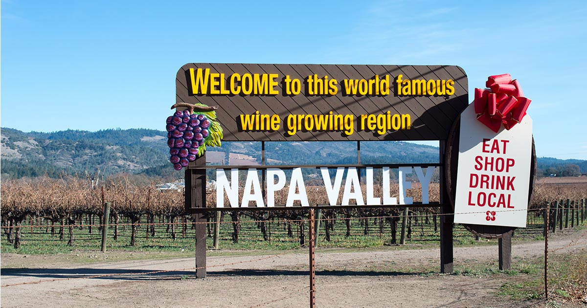 Napa Valley tourism California