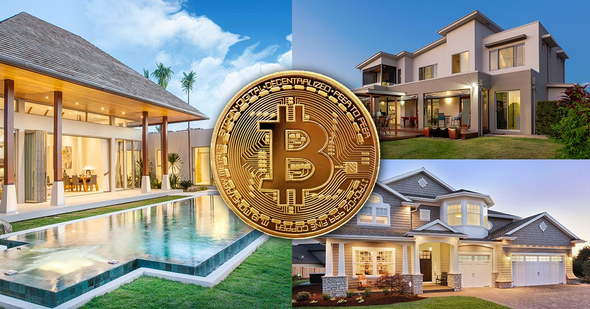 Real Estate Bitcoin Cryptocurrency