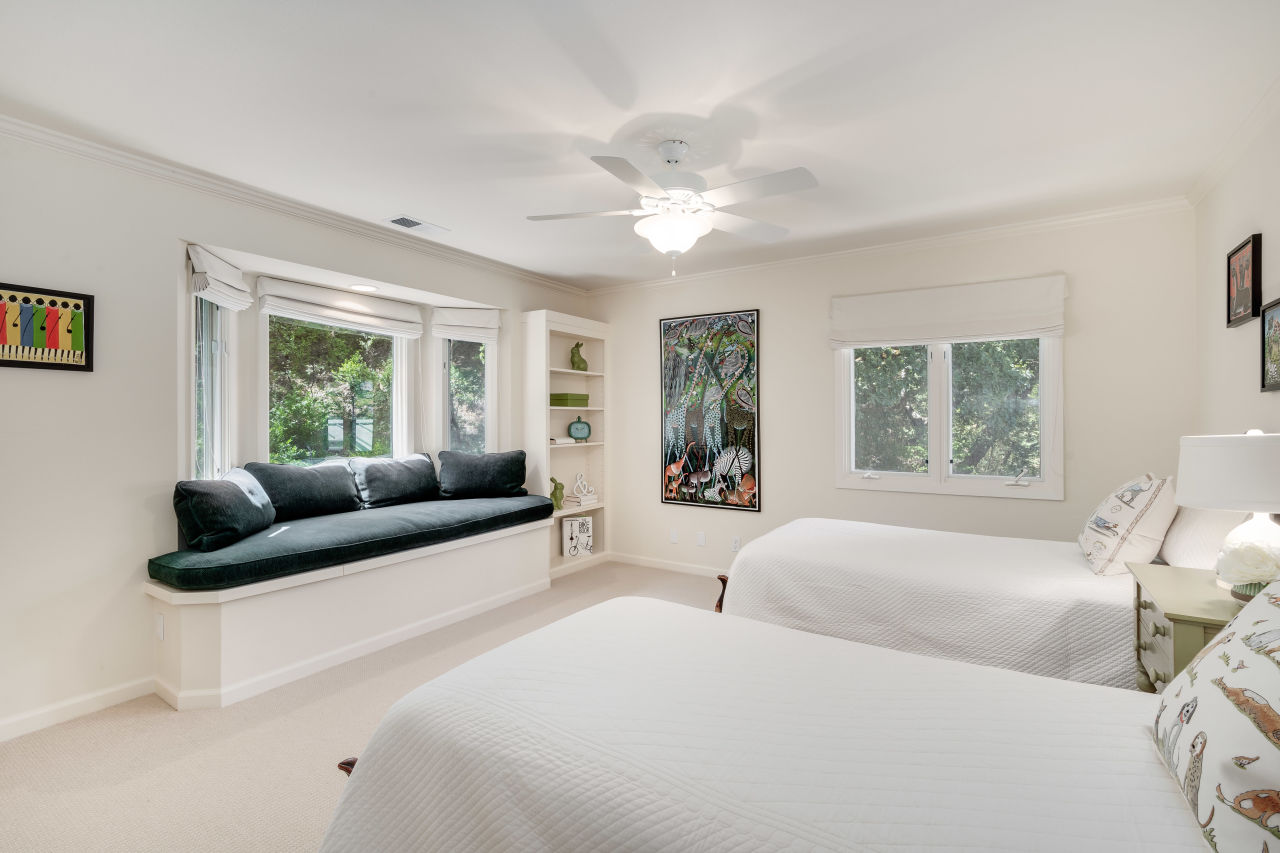 1295 Rockland Dr daytime aerial view guest bedroom